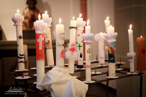 Kommunions Kerzen