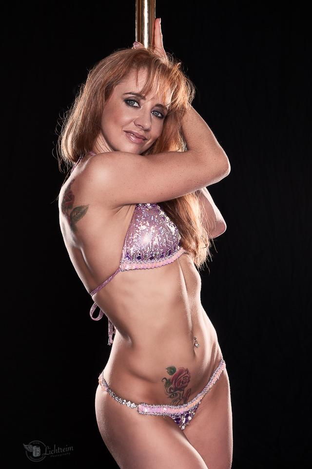 Porträt von Pole Tänzerin Alex