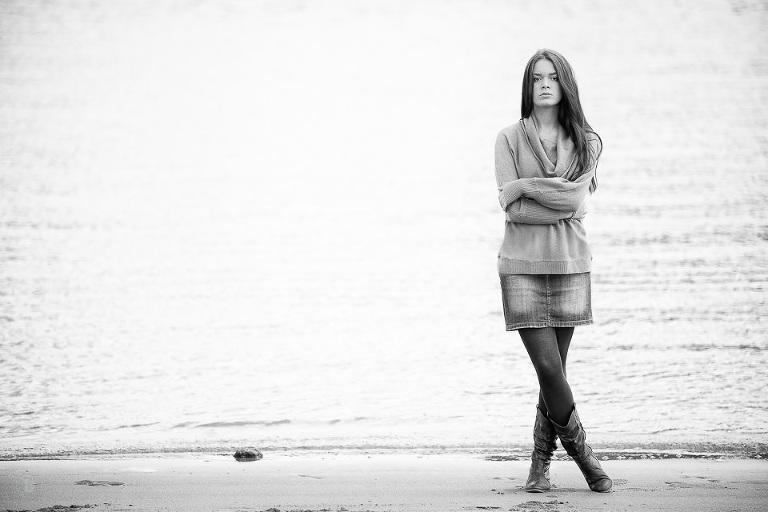 s/w am Strand