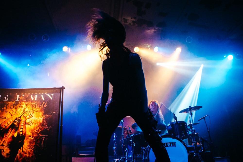 Köln Essigfabrik Once Human Metal Band