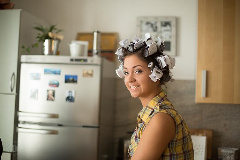 Silvana beim Styling - Fotograf Köln
