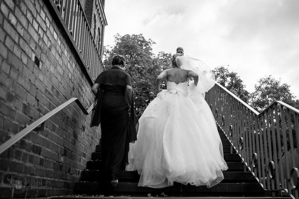 Braut Ankunft