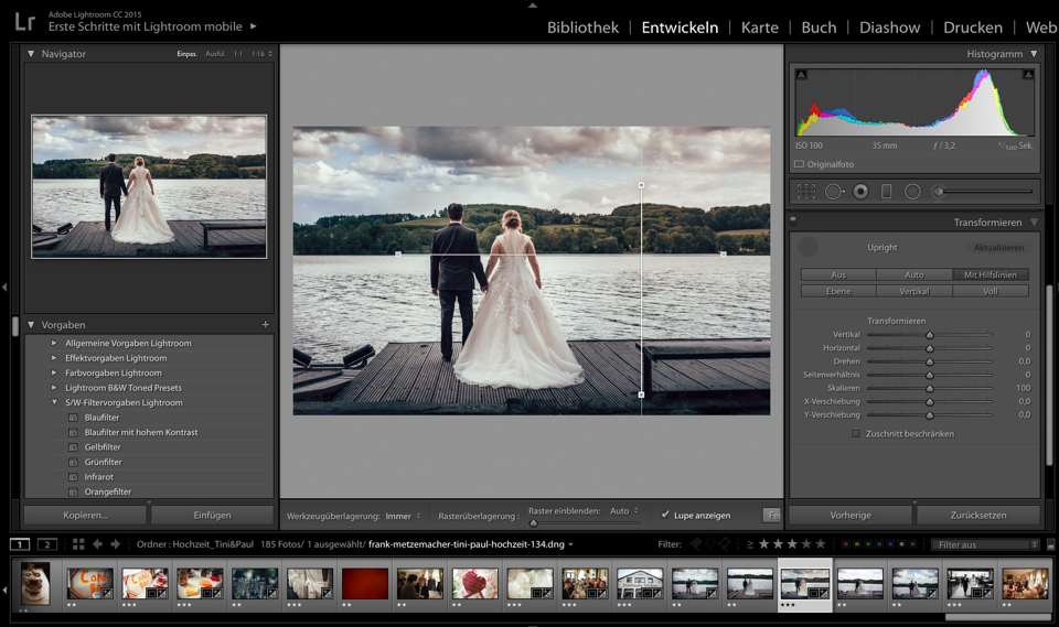 Lightroom CC2015.6 Transform
