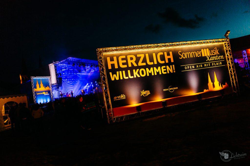 Stefanie Heinzmann - Xanten - mit Bühne