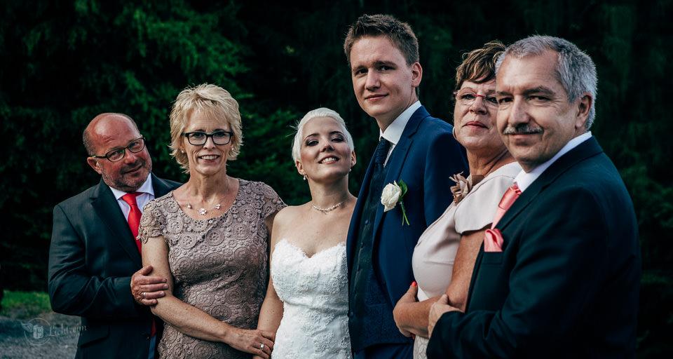 Gruppenbilder Hochzeit
