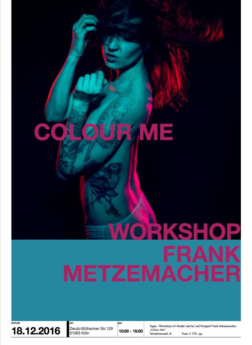 Workshop Köln - Flyer
