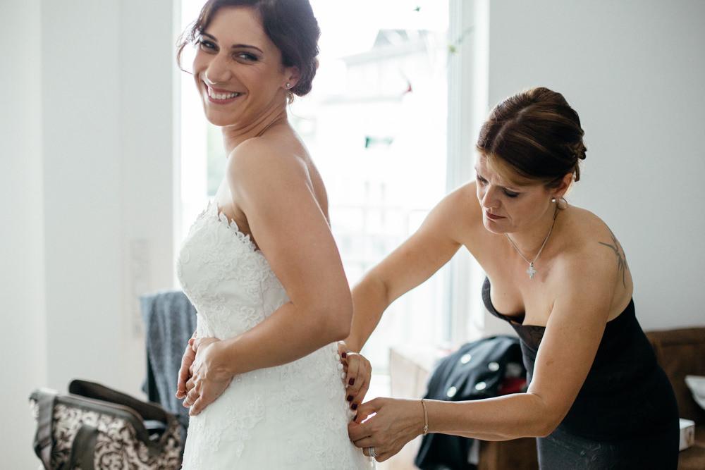 Hochzeitsfotograf Düsseldorf - Ratingen - Getting ready