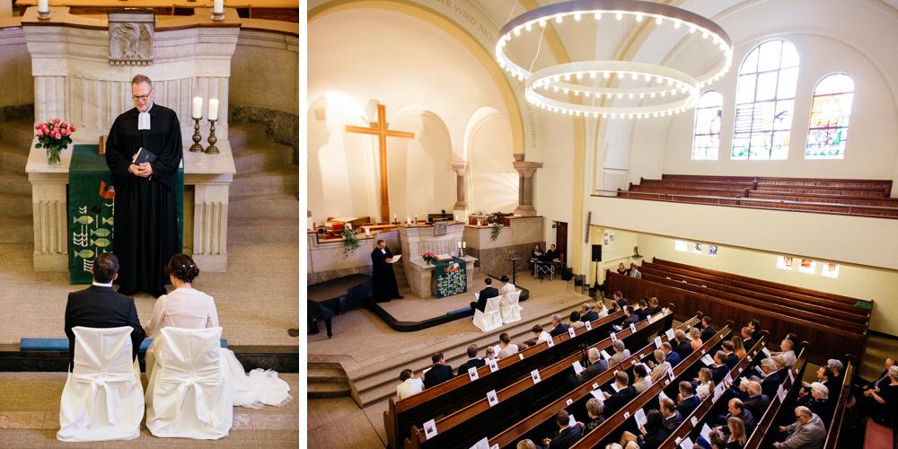 Hochzeitsfotograf Düsseldorf - Ratingen - Kirche