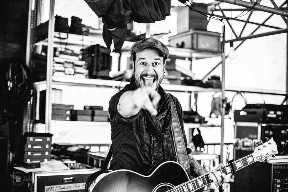 Xanten Sommermusik Backstage