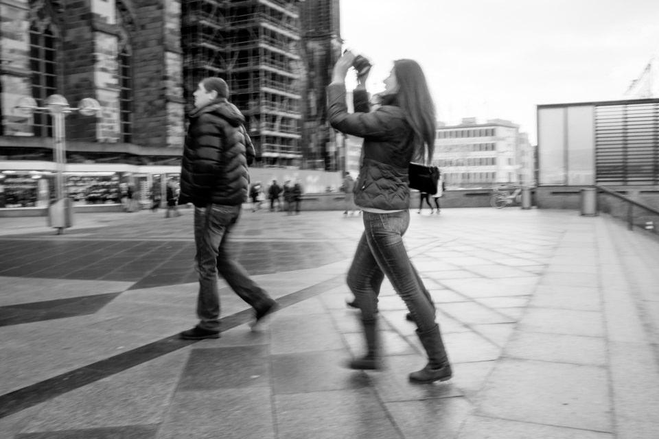 Fotografin in Köln
