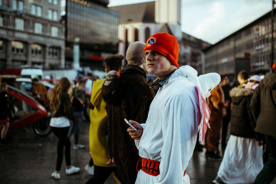 Domplatte Köln Karneval