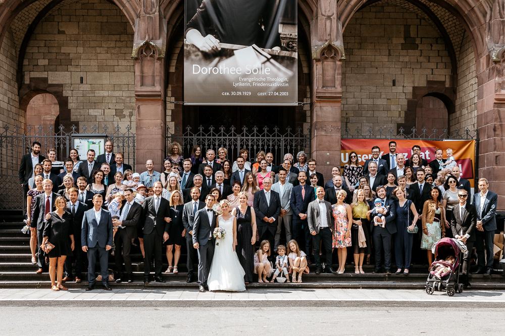 Hochzeitsfotograf Köln Sektempfang