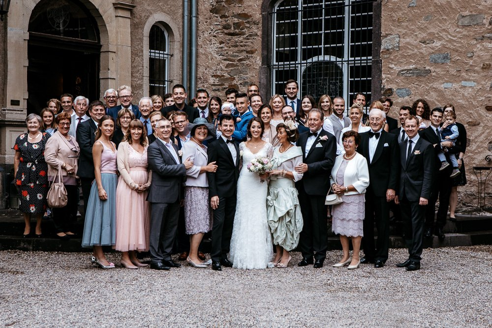 Hochzeit Burg Namedy Paarshooting