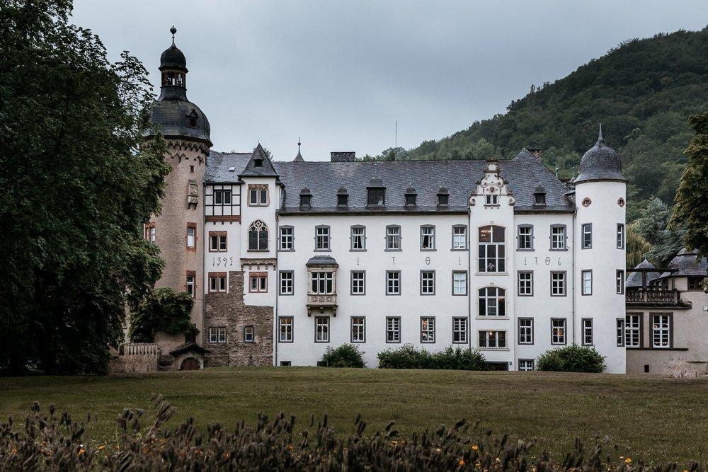 Hochzeit Burg Namedy Party