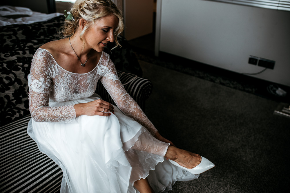 Hochzeitsfotograf Düsseldorf - Getting Ready
