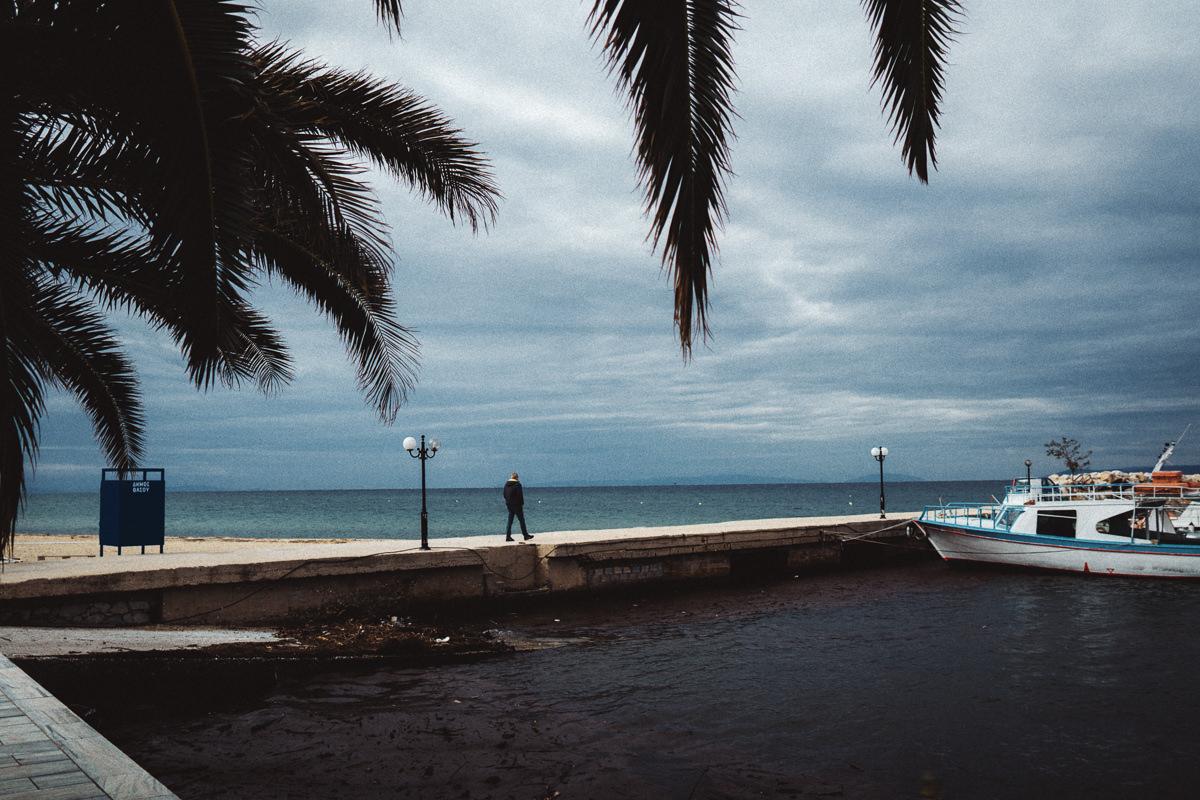Fotograf auf Thassos