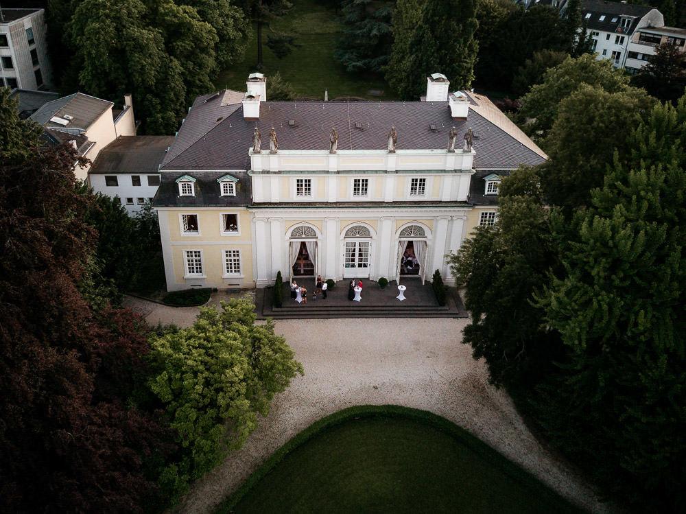 Hochzeit in Bonn La Redoute