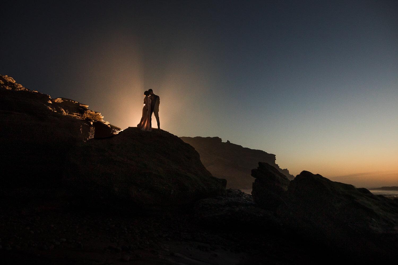 Fotoshooting in der Abendsonne