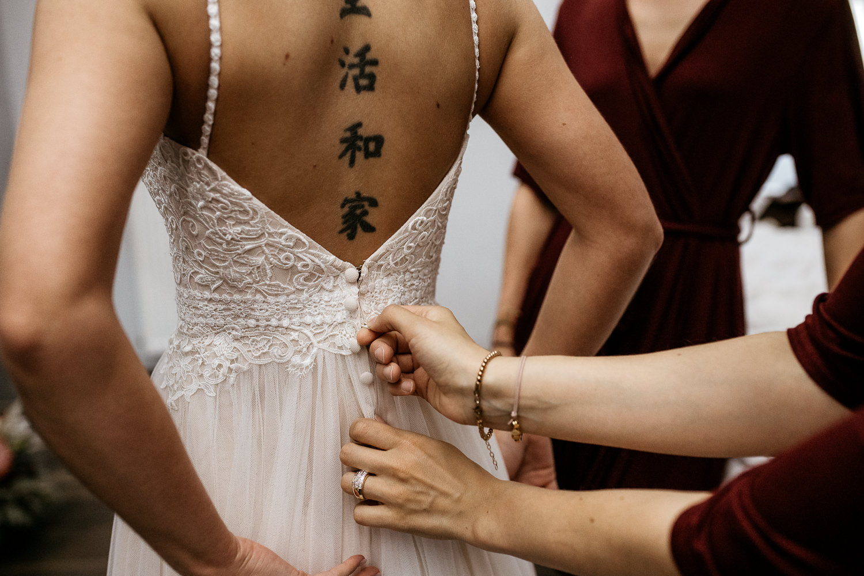 Getting Ready Braut auf Gut Hohenholz